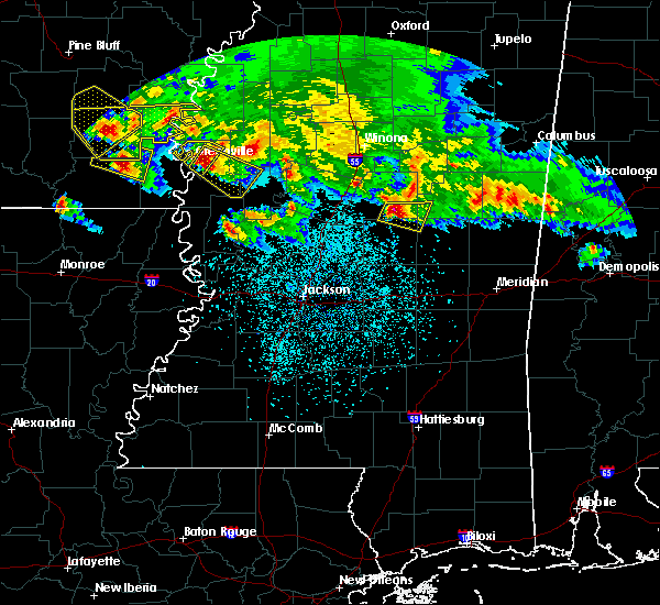 Radar Image for Severe Thunderstorms near Inverness, MS at 3/10/2018 11:17 PM CDT