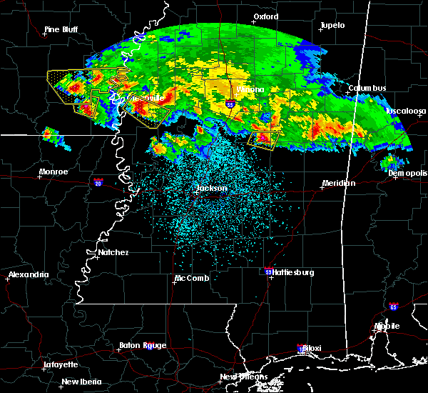 Radar Image for Severe Thunderstorms near Pearl River, MS at 3/10/2018 11:32 PM CDT