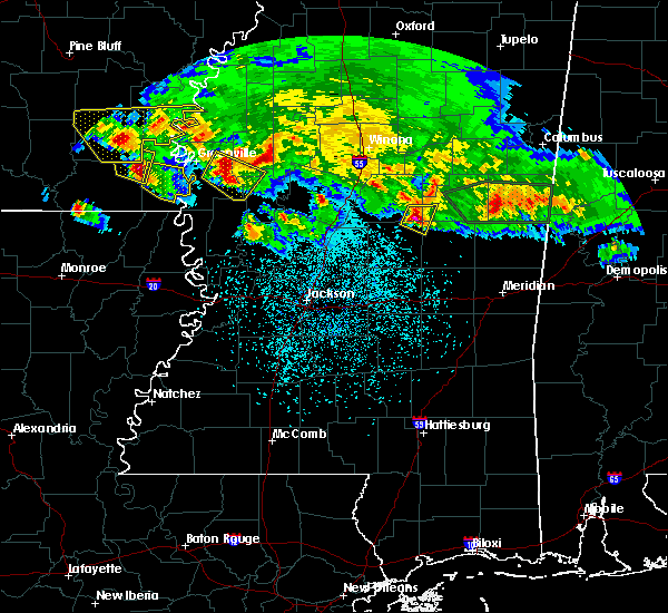 Radar Image for Severe Thunderstorms near Pearl River, MS at 3/10/2018 11:42 PM CDT