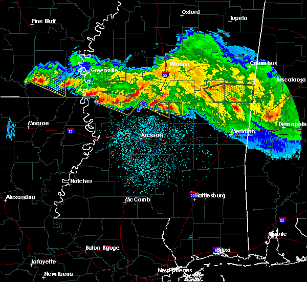 Radar Image for Severe Thunderstorms near Eden, MS at 3/11/2018 1:45 AM CDT