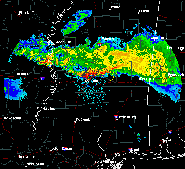Radar Image for Severe Thunderstorms near Brandon, MS at 3/11/2018 3:13 AM CDT