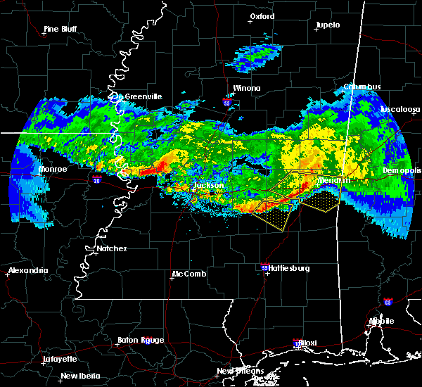 Radar Image for Severe Thunderstorms near Bay Springs, MS at 3/11/2018 4:38 AM CDT