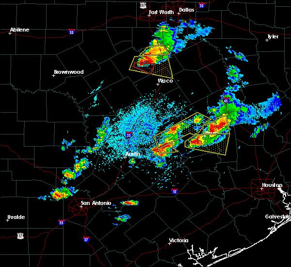 Radar Image for Severe Thunderstorms near Lexington, TX at 3/18/2018 5:41 PM CDT