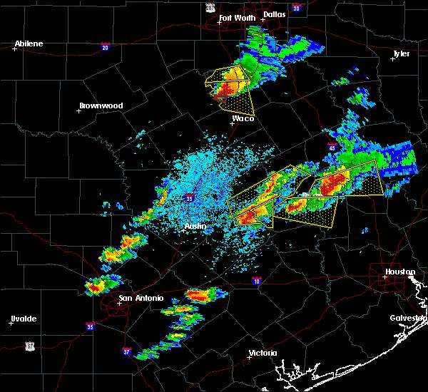 Radar Image for Severe Thunderstorms near Lexington, TX at 3/18/2018 5:56 PM CDT