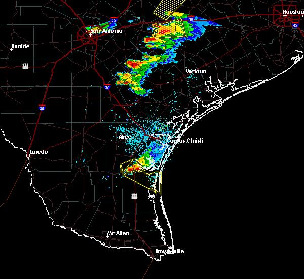 Radar Image for Severe Thunderstorms near Sarita, TX at 3/18/2018 6:45 PM CDT
