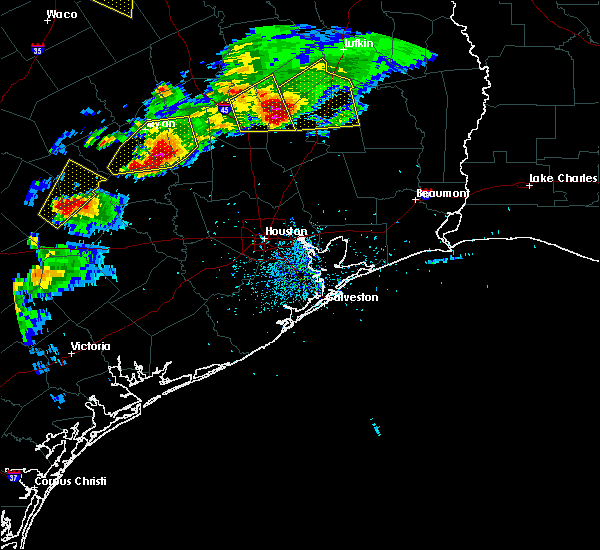Radar Image for Severe Thunderstorms near Cedar Point, TX at 3/18/2018 7:06 PM CDT