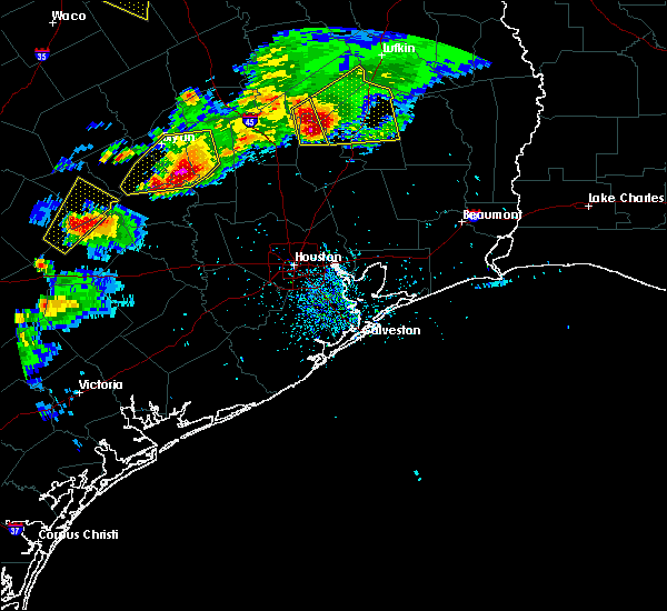 Radar Image for Severe Thunderstorms near Westwood Shores, TX at 3/18/2018 7:09 PM CDT