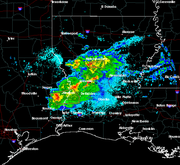 Radar Image for Severe Thunderstorms near St. Maurice, LA at 3/18/2018 10:15 PM CDT