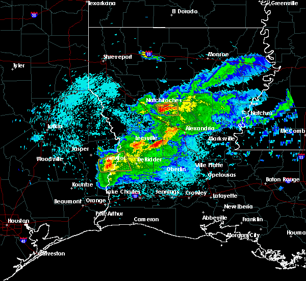 Radar Image for Severe Thunderstorms near Montgomery, LA at 3/18/2018 10:28 PM CDT