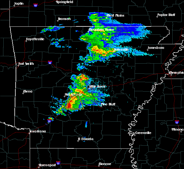Radar Image for Severe Thunderstorms near Midway, AR at 3/19/2018 6:12 AM CDT