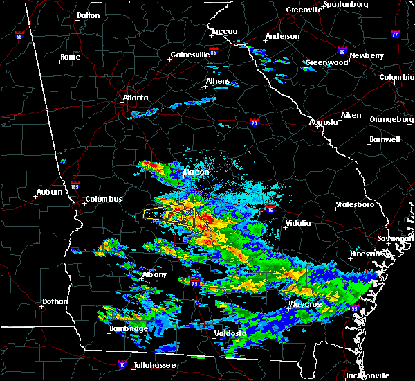 Radar Image for Severe Thunderstorms near Unadilla, GA at 3/19/2018 6:31 PM EDT