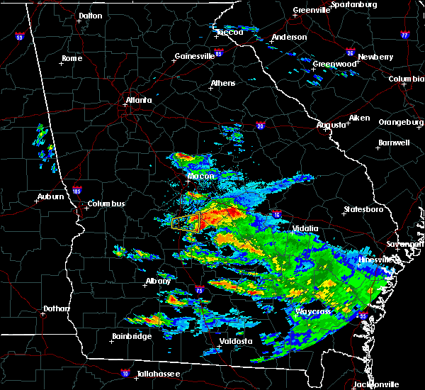 Radar Image for Severe Thunderstorms near Unadilla, GA at 3/19/2018 6:58 PM EDT