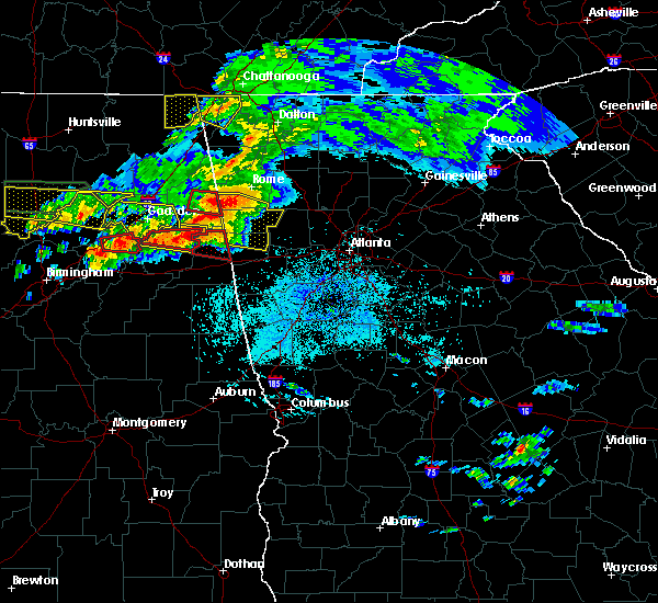 Radar Image for Severe Thunderstorms near Edwardsville, AL at 3/19/2018 8:44 PM CDT