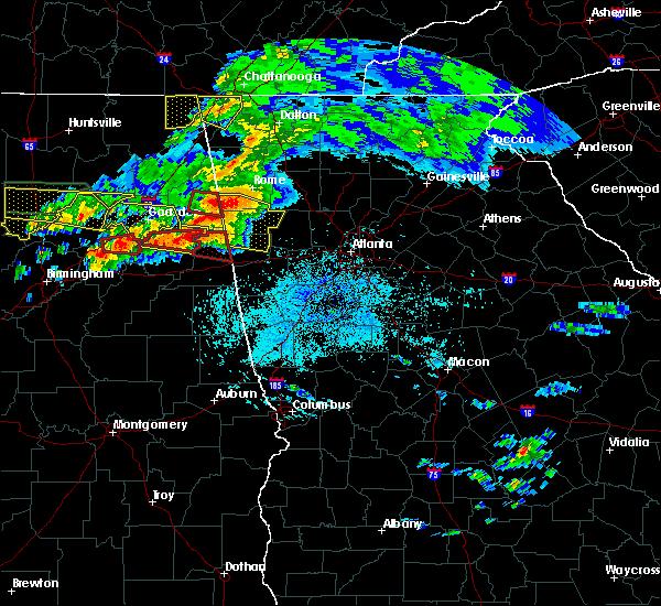 Radar Image for Severe Thunderstorms near Braswell, GA at 3/19/2018 9:47 PM EDT