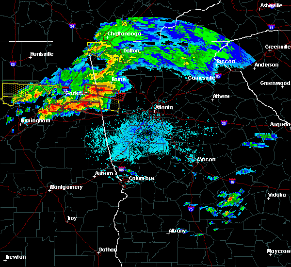 Radar Image for Severe Thunderstorms near Edwardsville, AL at 3/19/2018 8:50 PM CDT
