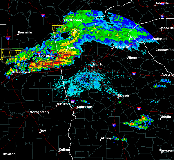 Radar Image for Severe Thunderstorms near Edwardsville, AL at 3/19/2018 9:02 PM CDT
