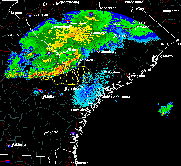 Radar Image for Severe Thunderstorms near Girard, GA at 3/20/2018 3:12 AM EDT