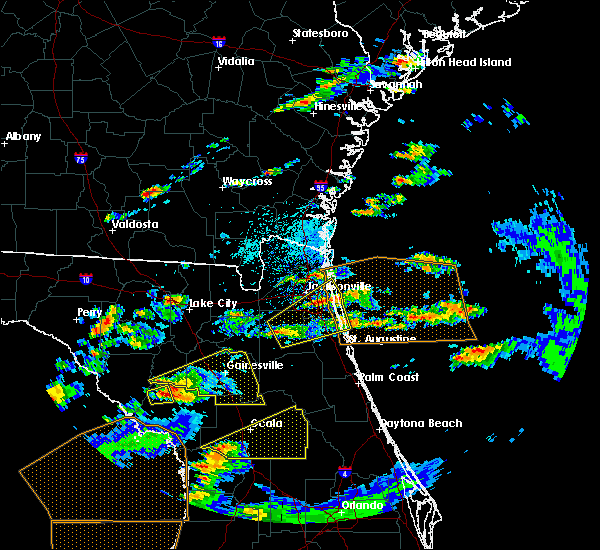 Radar Image for Severe Thunderstorms near Asbury Lake, FL at 3/20/2018 1:35 PM EDT