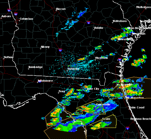 Radar Image for Severe Thunderstorms near Chiefland, FL at 3/20/2018 1:41 PM EDT