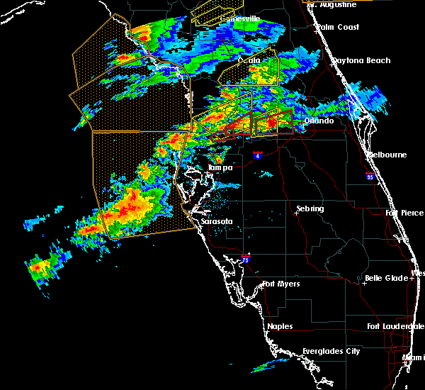 Radar Image for Severe Thunderstorms near Floral City, FL at 3/20/2018 2:08 PM EDT