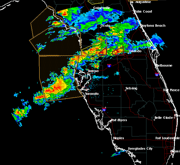 Radar Image for Severe Thunderstorms near Mascotte, FL at 3/20/2018 2:17 PM EDT