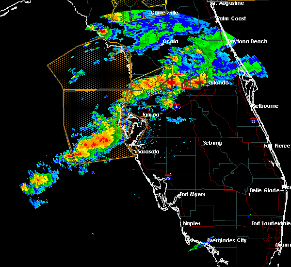 Radar Image for Severe Thunderstorms near Groveland, FL at 3/20/2018 2:27 PM EDT