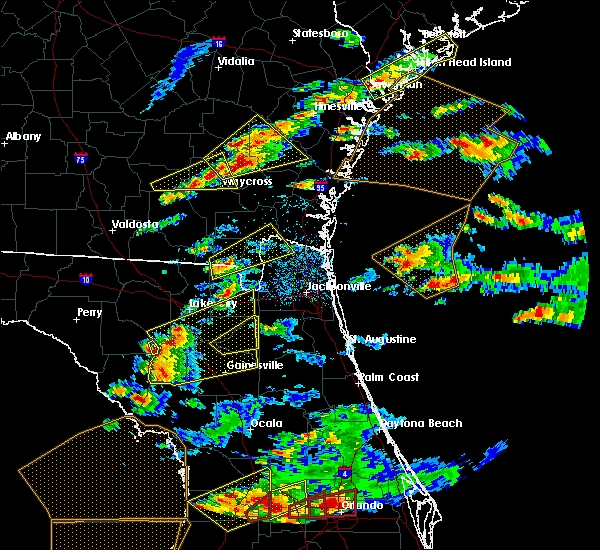 Radar Image for Severe Thunderstorms near Homeland, GA at 3/20/2018 2:30 PM EDT