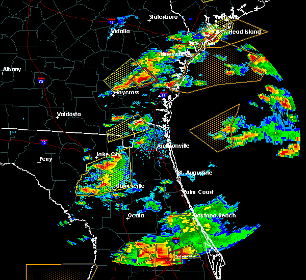 Radar Image for Severe Thunderstorms near Jesup, GA at 3/20/2018 2:54 PM EDT