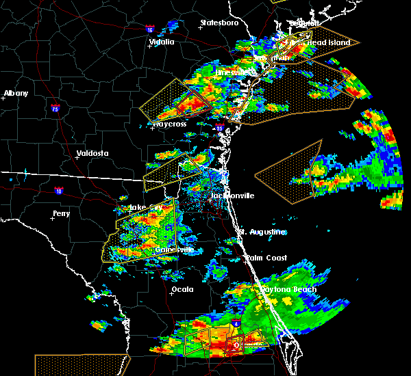 Radar Image for Severe Thunderstorms near Macclenny, FL at 3/20/2018 3:00 PM EDT