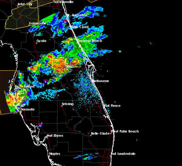 Radar Image for Severe Thunderstorms near Bay Hill, FL at 3/20/2018 3:06 PM EDT