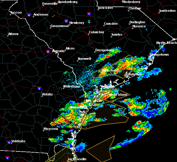 Radar Image for Severe Thunderstorms near North Charleston, SC at 3/20/2018 3:10 PM EDT