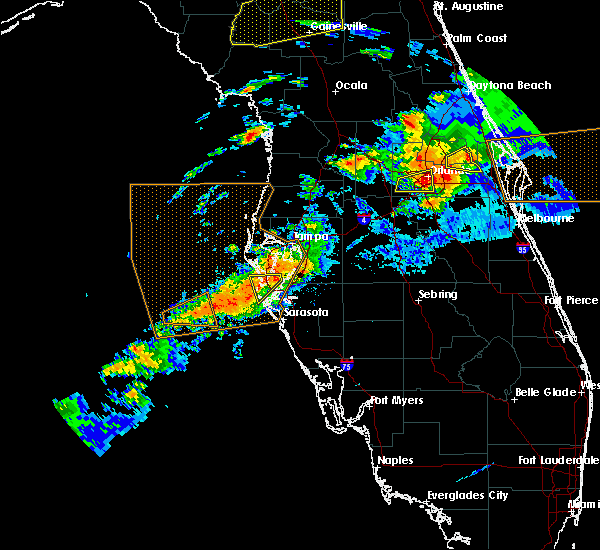 Radar Image for Severe Thunderstorms near Tampa, FL at 3/20/2018 3:17 PM EDT