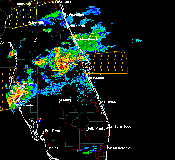 Radar Image for Severe Thunderstorms near Bay Hill, FL at 3/20/2018 3:16 PM EDT