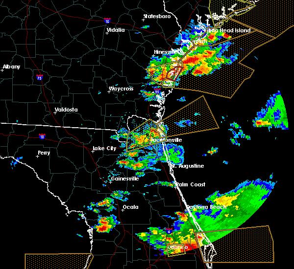 Radar Image for Severe Thunderstorms near Darien, GA at 3/20/2018 3:41 PM EDT