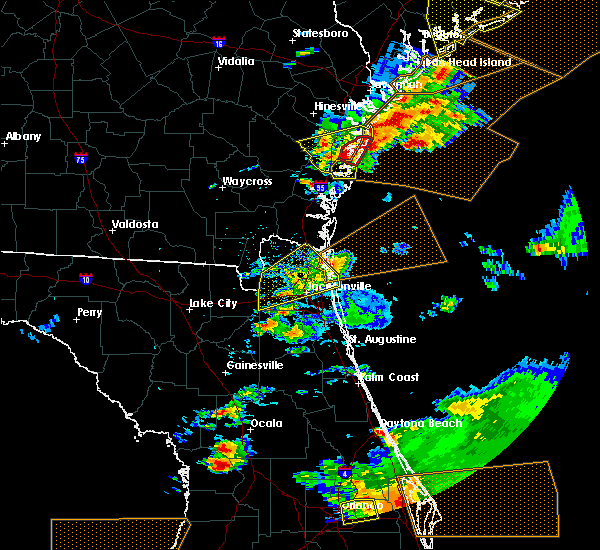 Radar Image for Severe Thunderstorms near Callahan, FL at 3/20/2018 3:44 PM EDT