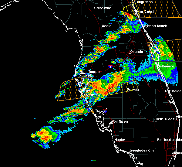 Radar Image for Severe Thunderstorms near Avon Park, FL at 3/20/2018 4:42 PM EDT