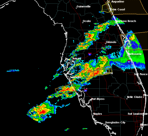 Radar Image for Severe Thunderstorms near Avon Park, FL at 3/20/2018 5:00 PM EDT