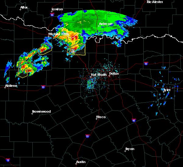 Radar Image for Severe Thunderstorms near Sunset, TX at 3/26/2018 7:13 PM CDT