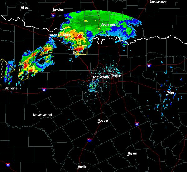 Radar Image for Severe Thunderstorms near Sunset, TX at 3/26/2018 7:20 PM CDT