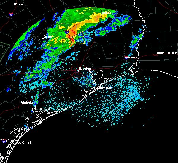 Radar Image for Severe Thunderstorms near Huntsville, TX at 3/28/2018 11:04 AM CDT