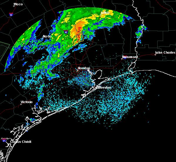 Radar Image for Severe Thunderstorms near Oakhurst, TX at 3/28/2018 11:25 AM CDT