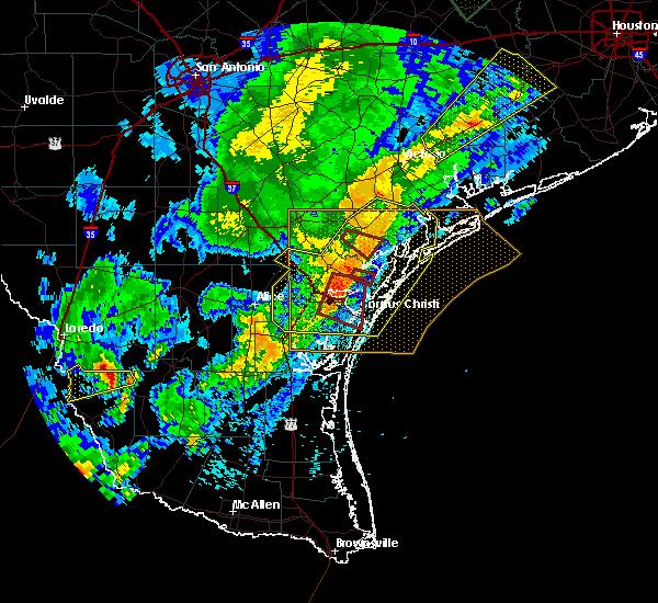 Radar Image for Severe Thunderstorms near Ingleside, TX at 3/29/2018 1:12 AM CDT