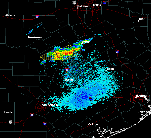 Radar Image for Severe Thunderstorms near Copperas Cove, TX at 4/3/2018 11:44 AM CDT