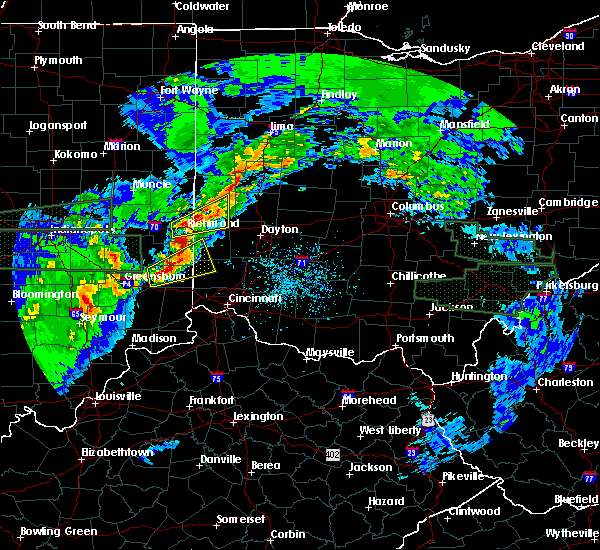 Radar Image for Severe Thunderstorms near Oxford, OH at 4/3/2018 3:25 PM EDT