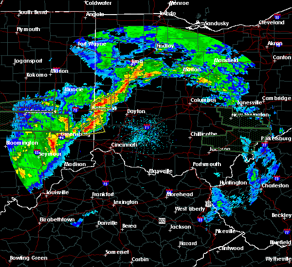 Radar Image for Severe Thunderstorms near College Corner, OH at 4/3/2018 3:34 PM EDT
