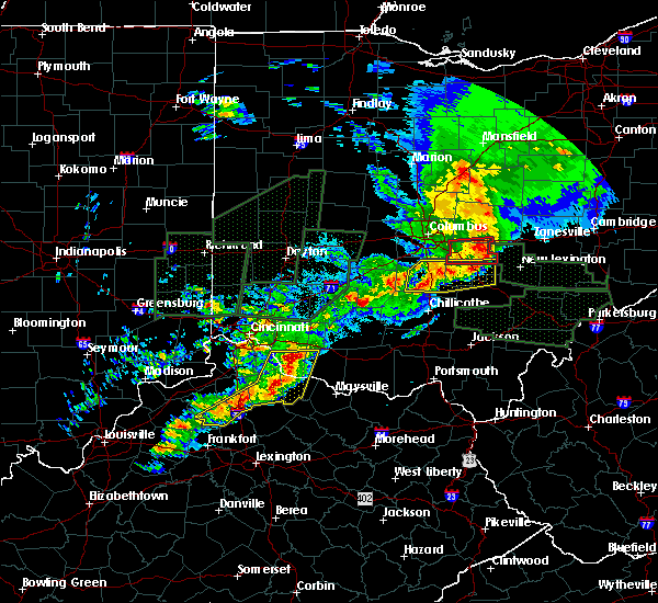 Radar Image for Severe Thunderstorms near Augusta, OH at 4/3/2018 6:07 PM EDT