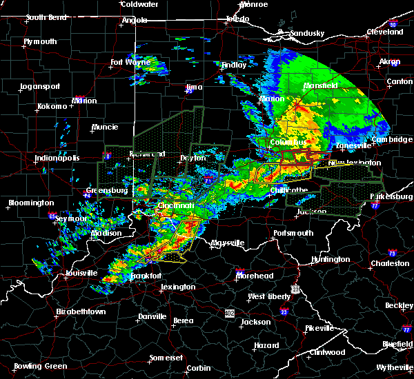 Radar Image for Severe Thunderstorms near Neville, OH at 4/3/2018 6:14 PM EDT
