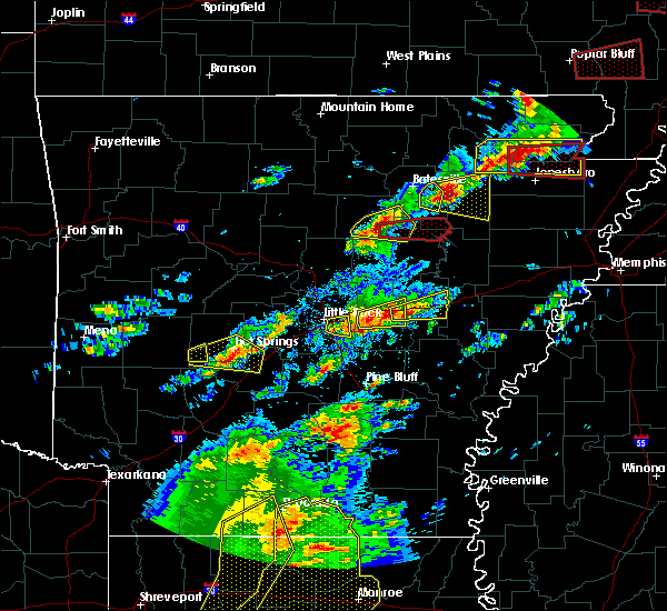 Radar Image for Severe Thunderstorms near Bradford, AR at 4/3/2018 5:27 PM CDT