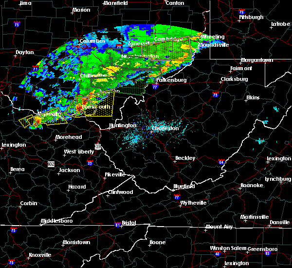 Radar Image for Severe Thunderstorms near Greenup, KY at 4/3/2018 7:49 PM EDT