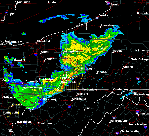 Radar Image for Severe Thunderstorms near Eighty Four, PA at 4/3/2018 8:17 PM EDT